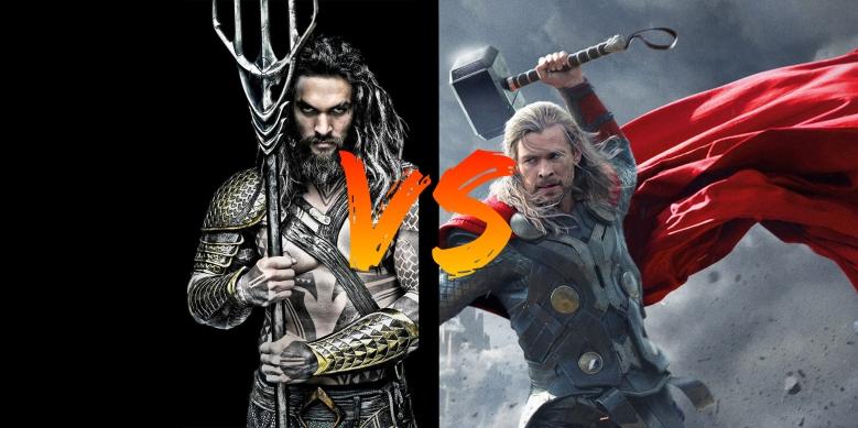 Battle Thor VS Aquaman