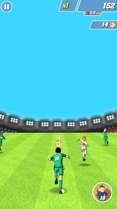 Captain Football Test iOS My Geek Actu 2
