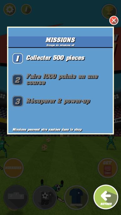 Captain Football Test iOS My Geek Actu 3