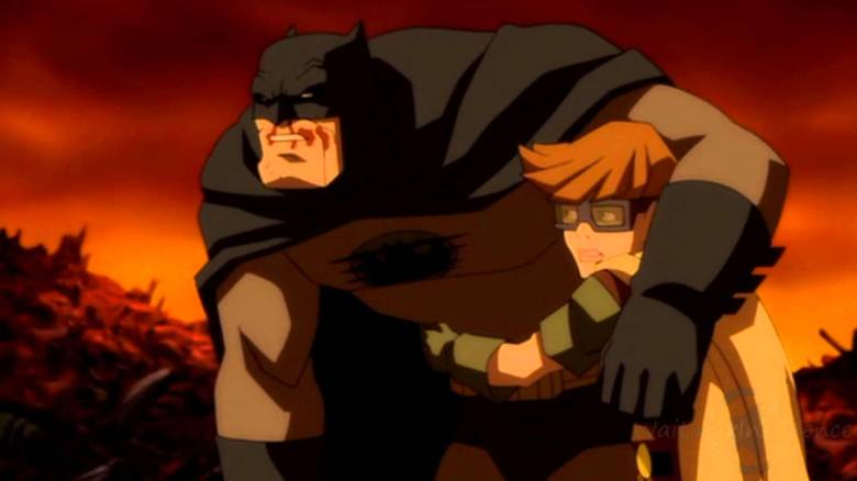 Robin Personnage My Geek Actu Carrie Kelley Batman Dark Knight