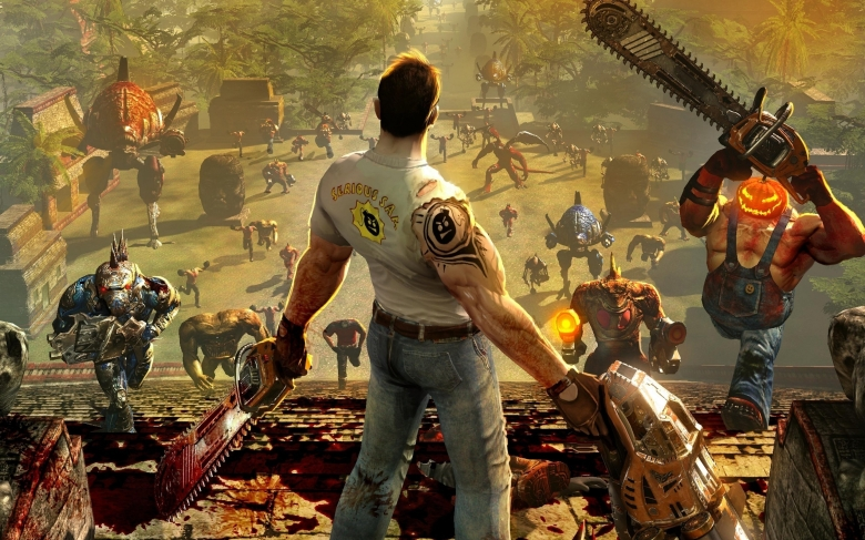 TOP 10 Jeux FPS My Geek Actu Serious Sam