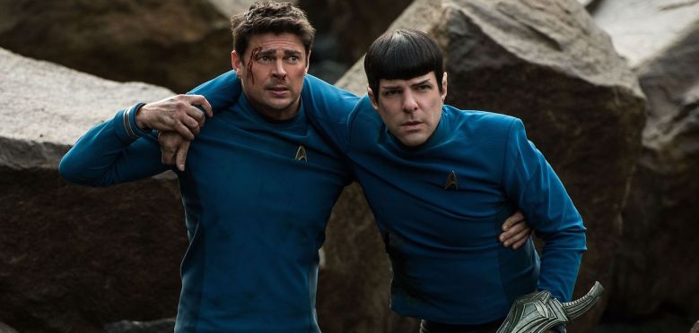 Star Trek Sans Limites Review My Geek Actu Bones Spock