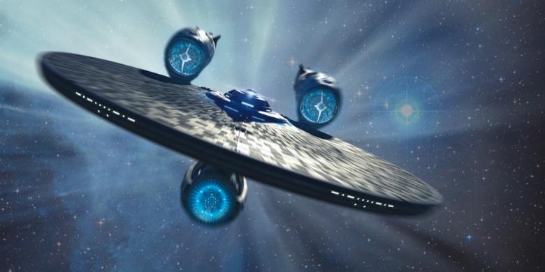 Star Trek Sans Limites Review My Geek Actu USS Entreprise 4