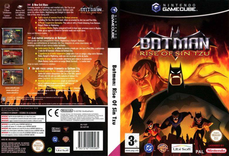 TOP 10 meilleurs jeux de super-héros Batman Rise Of Sin Tzu