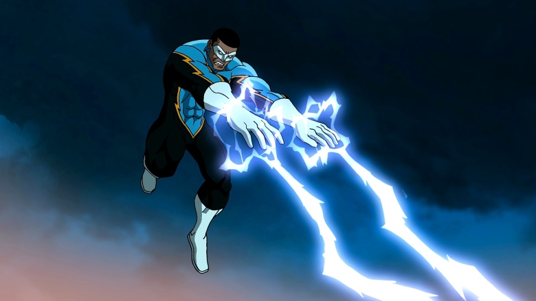 Black Lightning News My Geek Actu  Animated