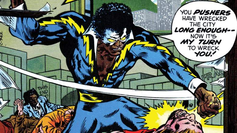 Black Lightning News My Geek Actu Comics