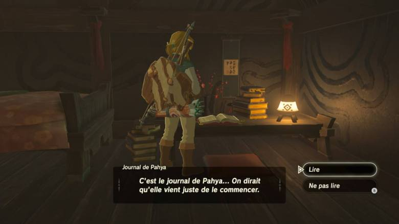 The Legend of Zelda Breath of the Wild Test Intérieur japonais