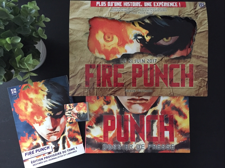 Fire Punch Tome 1 Review My Geek Actu Box Kaze