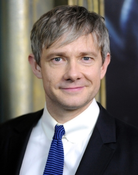 "Actor Martin Freeman attends the premiere of ""The Hobbit: An Unexpected Journey"" at the Ziegfeld Theatre on Thursday Dec. 6, 2012 in New York. (Photo by Evan Agostini/Invision/AP)"