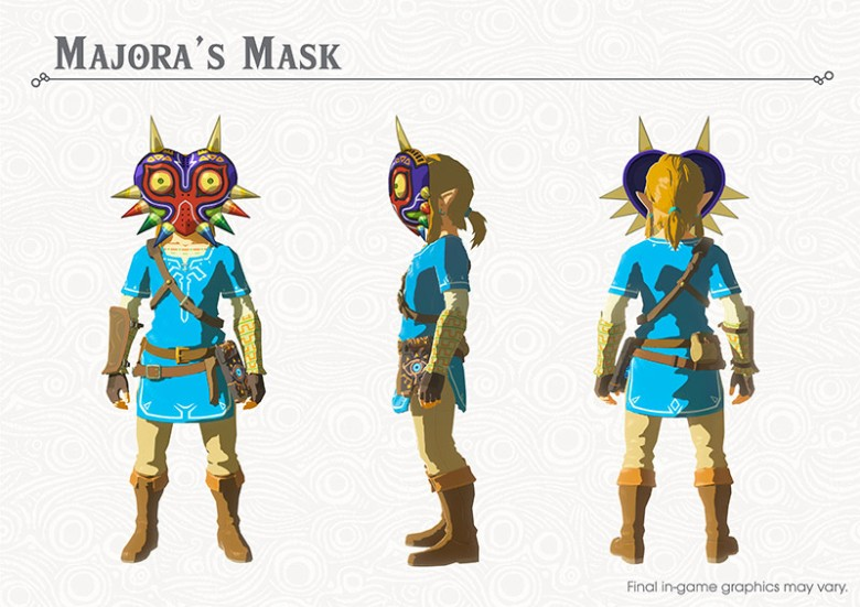 The Legend of Zelda Breath of the Wild News DLC 1 My Geek Actu Majora's Mask