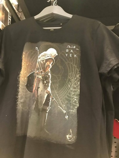 Assassins Creed Origins News My Geek Actu Tshirt
