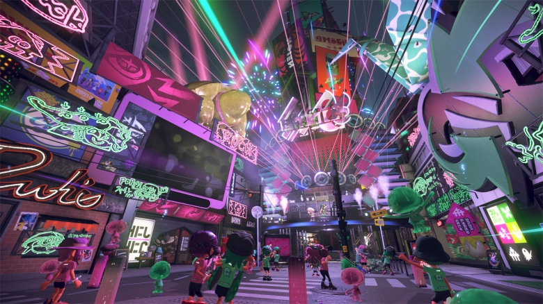 Splatoon 2 Test My Geek Actu Clubbing