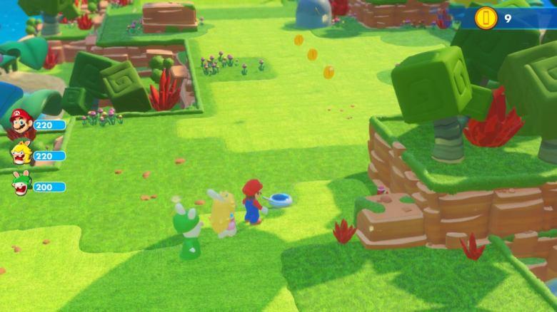 Mario + Lapins Crétins Kingdom Battle Découverte My Geek Actu Test