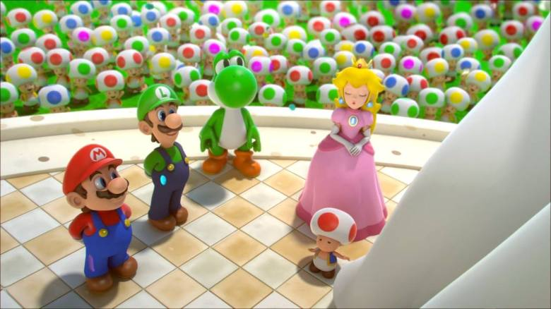 Mario + Lapins Crétins Kingdom Battle Equipe My Geek Actu Test