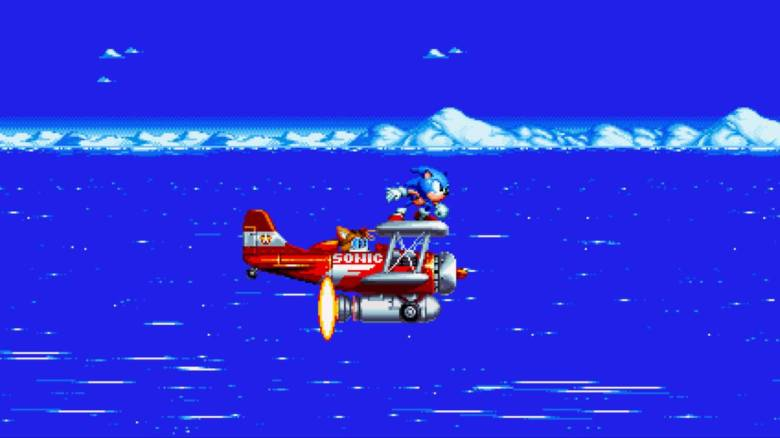 Sonic Mania Test My Geek Actu Avion Tails