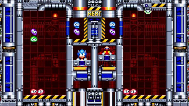 Sonic Mania Test My Geek Actu Dr. Robotnik's Mean Bean Machine
