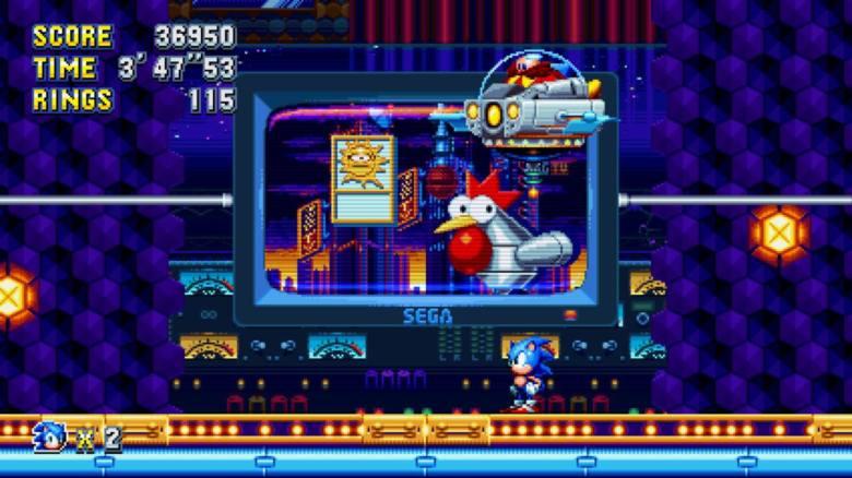 Sonic Mania Test My Geek Actu Poulet