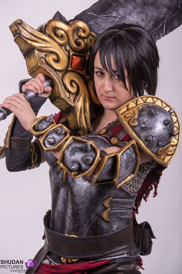 INTERVIEW LOU SUZU - Portrait Belladona de SMITE - My Geek Actu