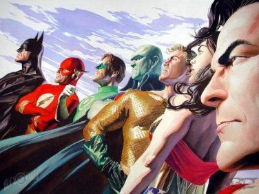 Justice League Review My Geek Actu Alex Ross Référence