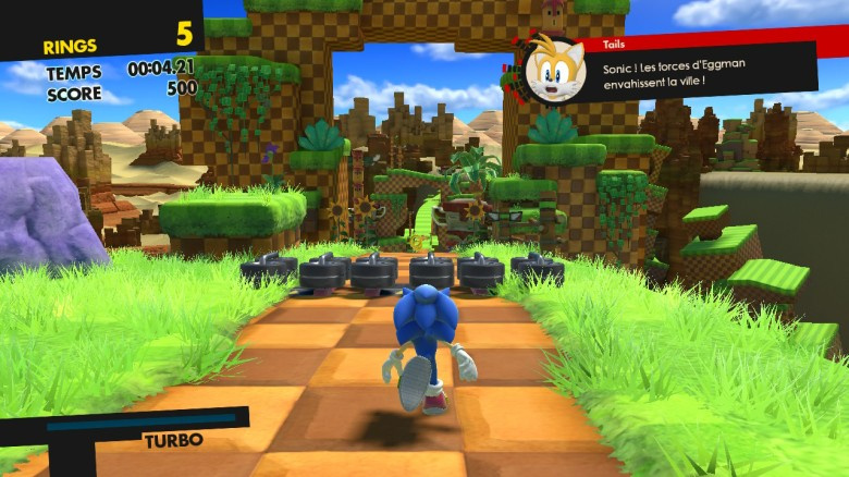 Sonic Forces Test My Geek Actu Green Hill Zone