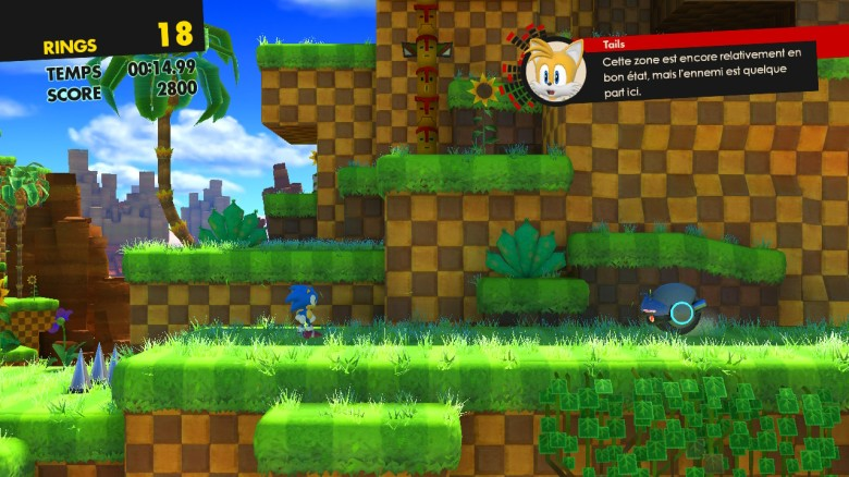 Sonic Forces Test My Geek Actu Old School Green Hill