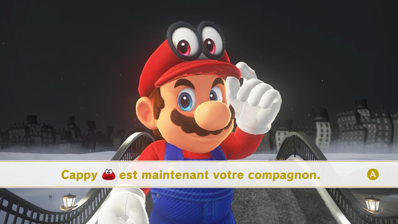 Super Mario Odyssey Test Nintendo Switch My Geek Actu Intro Cappy