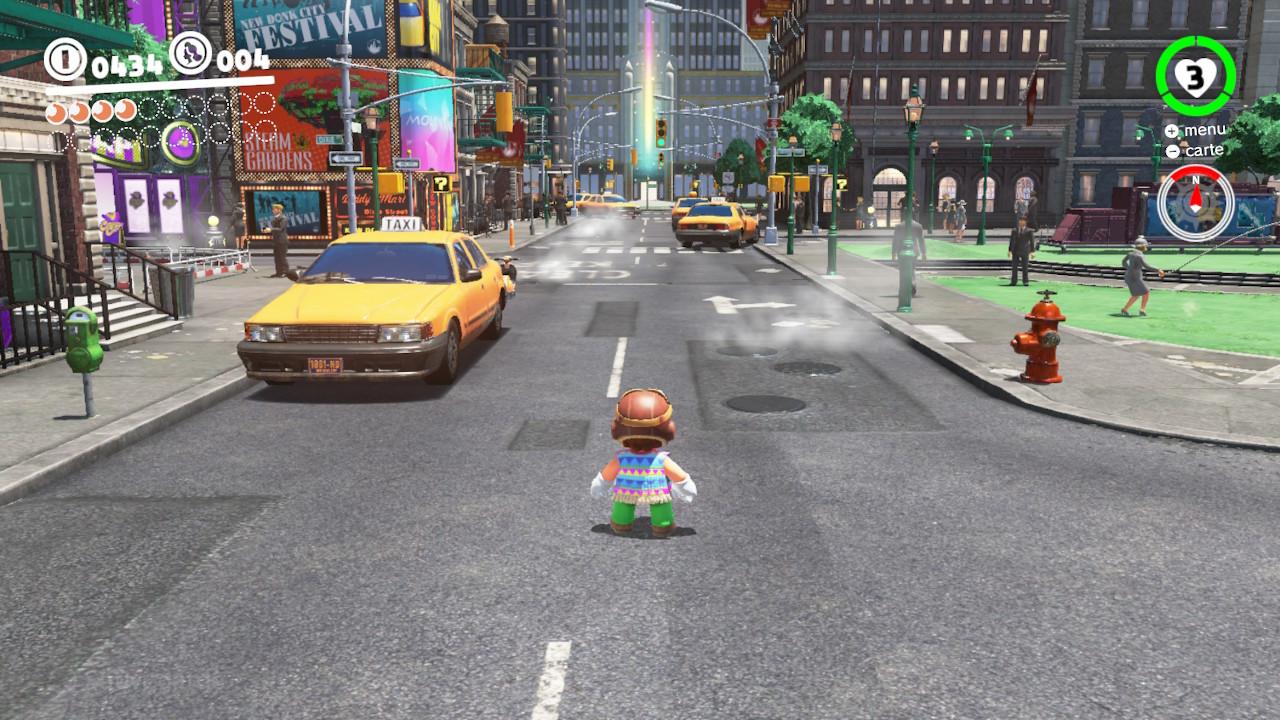 Super Mario Odyssey Test Nintendo Switch My Geek Actu New Donk City