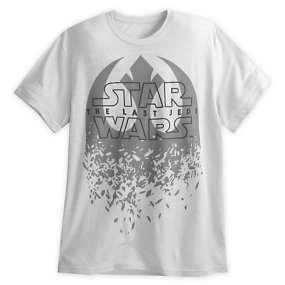 GEEKERIES - Star Wars 8 Tshirt blanc