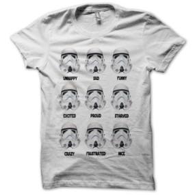 GEEKERIES - Star Wars 8 tshirt stormtrooper