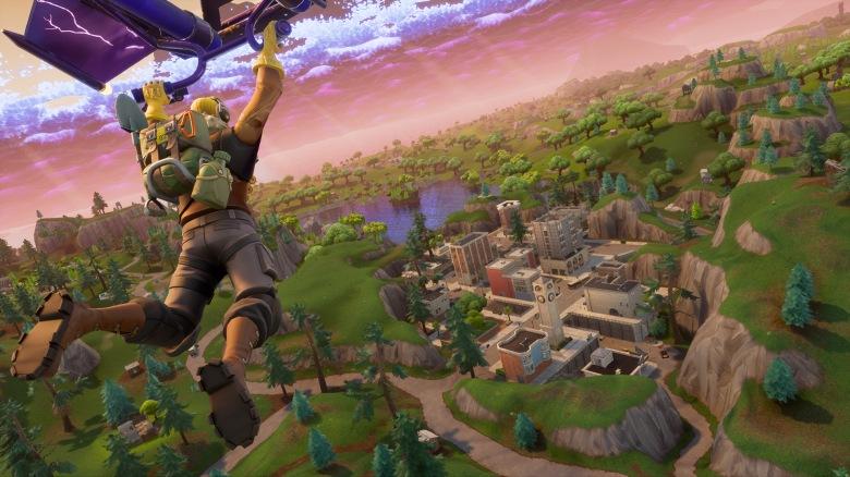 5 bonnes raisons de jouer à Fortnite My Geek Actu Parachute