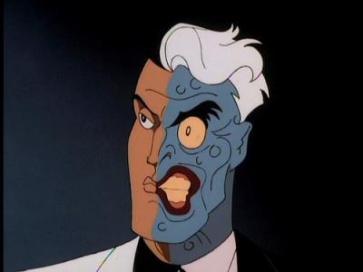 Batman contre Double Face Review My Geek Actu Animated Series