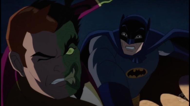 Batman contre Double Face Review My Geek Actu Combat