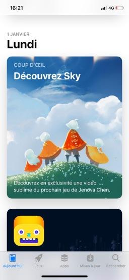 Sky iOS News My Geek Actu AppStore 1