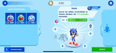 Sonic Runners Adventure Test iOS My Geek Actu Accélérateurs