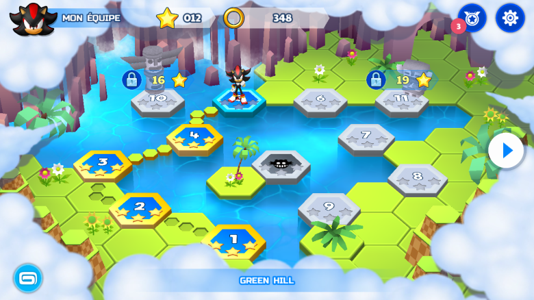 Sonic Runners Adventure Test iOS My Geek Actu Map