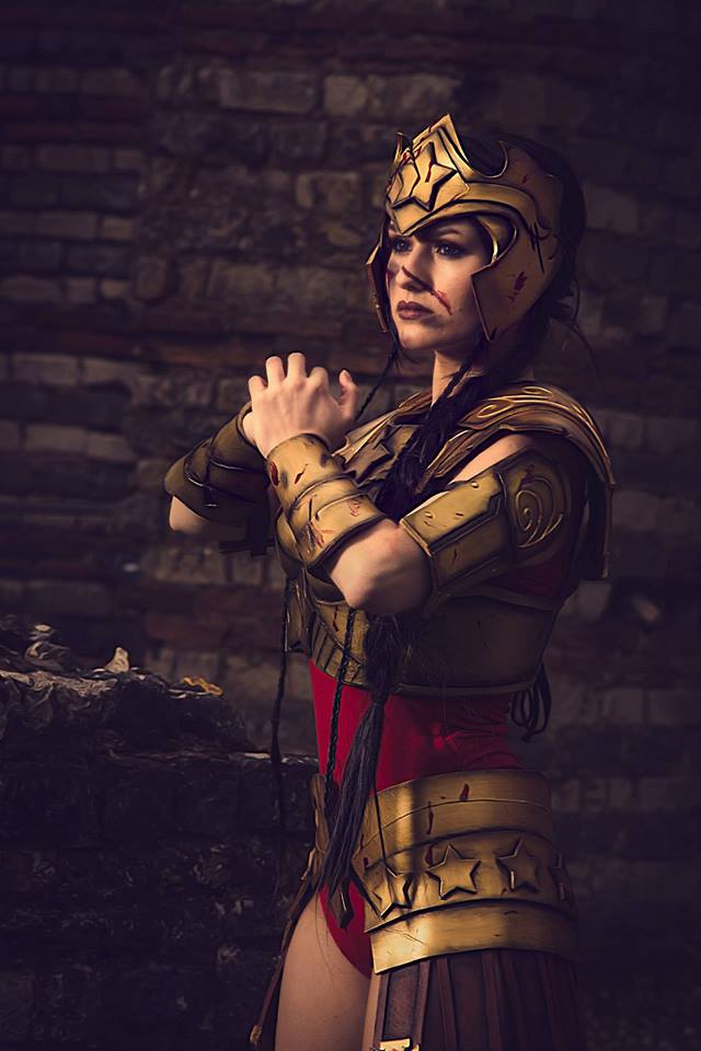 Interview - Pep's Cosplay - Portrait Wonder Woman