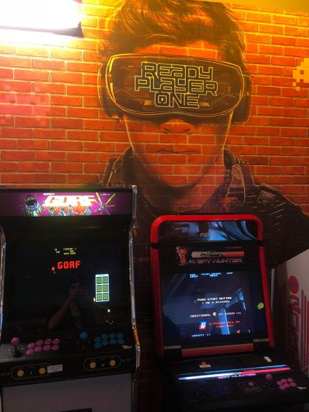 event arcade bar ready player one my geek actu 2
