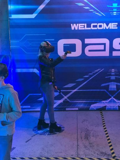 event ready player one arcade bar vr my geek actu