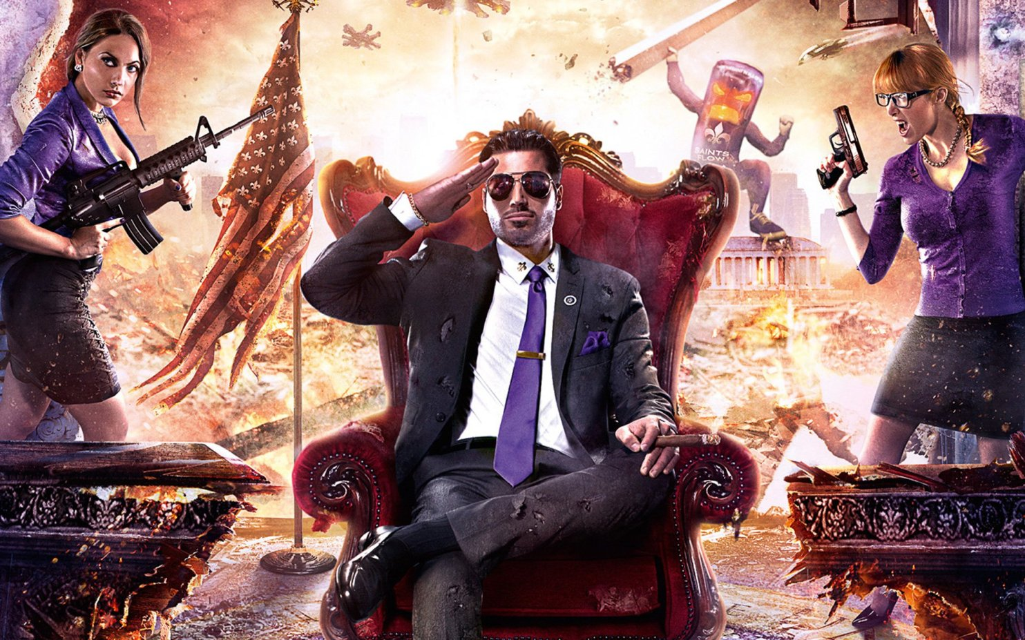 geek contest Saints Row IV wallpaper my geek actu.jpg