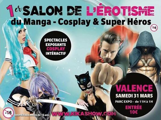 News My Geek Actu Erotisme Salon Cosplay Manga