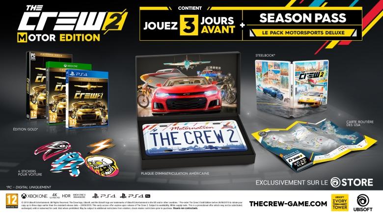 The Crew 2 News My Geek Actu Pack