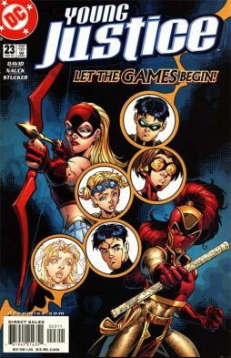 Young Justice Review My Geek Actu Comics 2