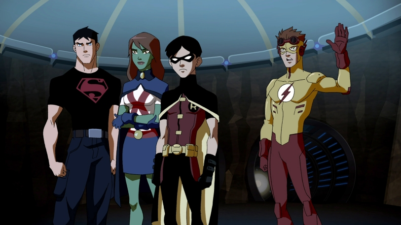 Young Justice Review My Geek Actu Saison 1-2