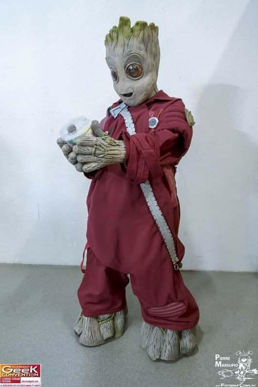 My Geek Actu - Top 10 Cosplayeurs Marvel - Baby Groot