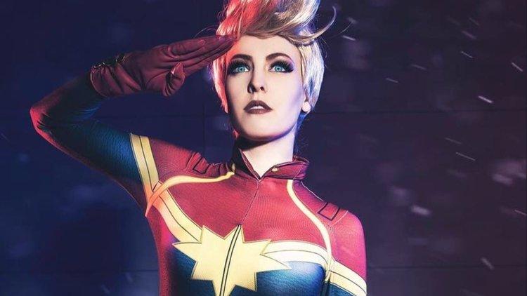 My Geek Actu - Top 10 Cosplayeurs Marvel - Captain Marvel