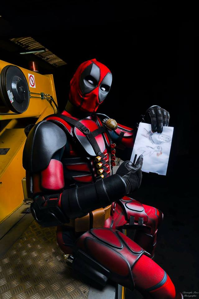 My Geek Actu - Top 10 Cosplayeurs Marvel - Deadpool