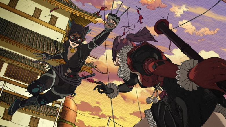 Batman Ninja Review My Geek Actu Catwoman