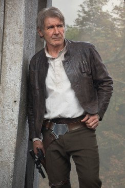 Star Wars: The Force Awakens..Han Solo (Harrison Ford)..Ph: David James..? 2015 Lucasfilm Ltd. & TM. All Right Reserved.
