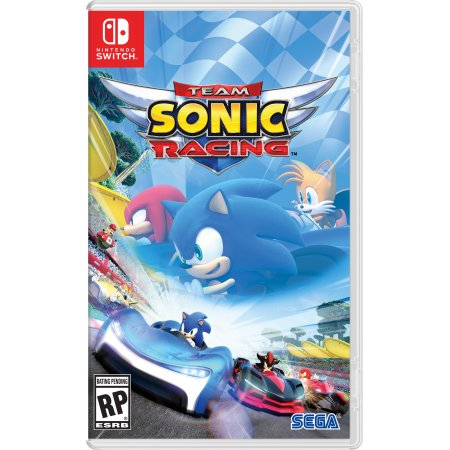 Team Sonic Racing News My Geek Actu pochette