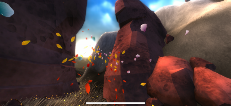 Flower Test IOS PS3 PS4 My Geek Actu rouge